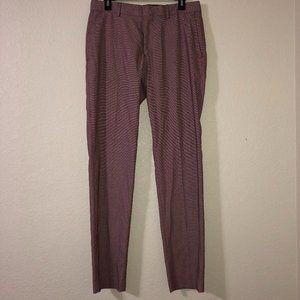 ZARA MAN Red Polka Dot Dress Pants Slacks 31